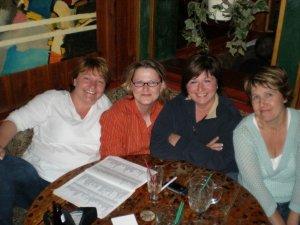 From left: June, Jaki, Jessie, Judy